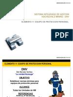 Capacitacion Elemento 11 eQUIPO DE PROTECCION PERSONAL