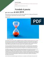 Por Que o Fundeb e Pauta Prioritaria Em 2019pdf