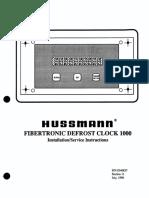 Fibertronic Defrost Clock 0340837
