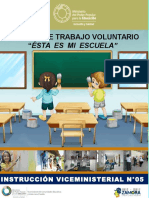 TRABAJO VOLUNTARIO