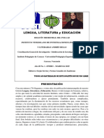 Lengua Literatura y Educacic3b3n Boletc3adn Del Ivillab Ac3b1o 20 No. 1 Enero Marzo 2019