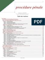 Code de Procedure Penale 2010