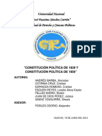 la constitucion politica de peru- evoluciones