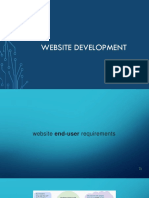 Website Development Questions