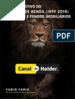 Guia IRPF 2019 Canal Do Holder