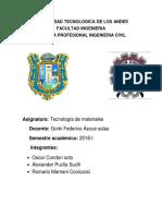 Universidad Tecnologica de Los Andes Monografia 22