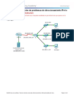 7.3.2.9 Packet Tracer - Troubleshooting IPv4 and IPv6 Addressing - ILM