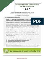 ASSISTENTE Técnico-Administrativo 2014 UFGD.pdf