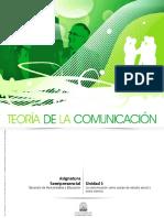 teoria de la comunicación