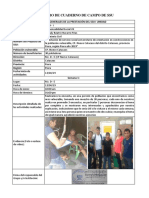 Cuaderno de Campo - Navarro Frias