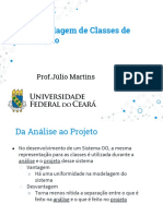 Aula 7 - Classes de Projeto