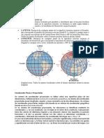 Coordenada Geográfica y Planas