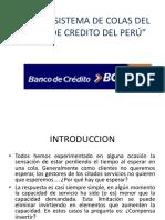 Analisis Sistema de Colas Del Banco de Credito