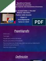 Presentación Papelografo