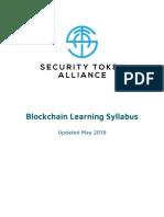 Blockchain Learning Syllabus