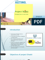 Rural Marketing - Project Shakti (1)
