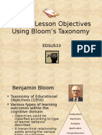 blooms objectives.ppt