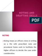 Noting and Drafting Skills