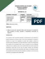 Informe 10 Valoraciones Redox