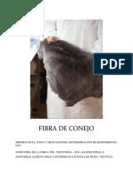 FIBRA DE CONEJO