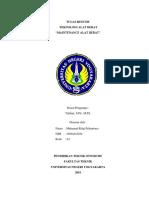 Tugas Resume Maintenance Alat-Berat