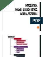 03.Analysis Design Method & Material
