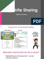 big write sharing
