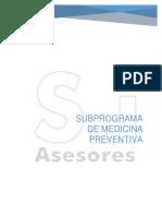 Subprograma de Medicina Preventiva