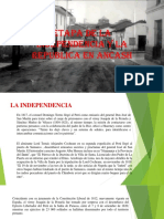 Independencia y Republica en Ancash