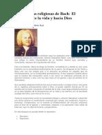 Las Cantatas Religiosas de Bach