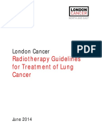 London Cancer Lung Radiotherapy Guidelines 2013 v1 0
