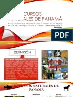 Los recursos naturales de panamá.pptx
