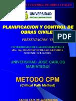 06 Metodo CPM (Critical Path Method)