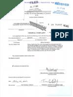 Resolución orden de detención contra Alejandro Toledo