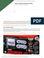 Consoles Retrô relançados em 2018