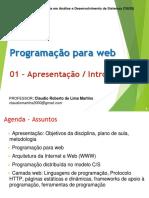 1- HTML Pt 1 - Introdução