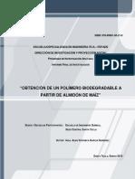 2015 Obtencion de Un Polimero Biodegradable