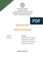 Modelos geológicos(1)