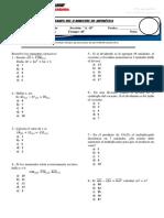 examen bimestral de aritmética