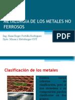 Metalurgia de Los No Metales No Ferrosos