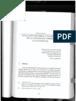 Evolución Histórica y Dogmática Del Principio de Audiencia o Contradictorio