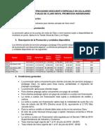 TC Descuentos Especiales Usuarios Claro Aniversario