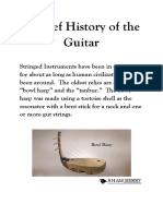 A Brief History of the Guitar - Starter Pack