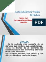 Sesión 3 y 4 Estructura-Atomica