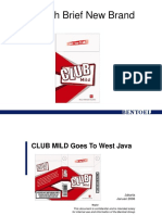 Club Mild Go West Brief Launching.ppt
