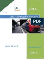 SAP SD AFS