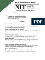 PhD Syllabus IT