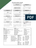 2019-20 academiccalendar