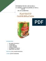 HACCP Carne Enlatada