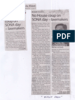 Manila Times, July 18, 2019, No House coup on SONA day-lawmakers.pdf
